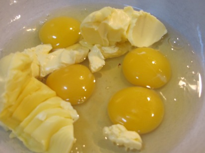 eggs-margarine-in-bowl