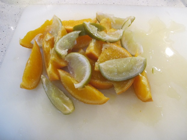 citrus, chopped