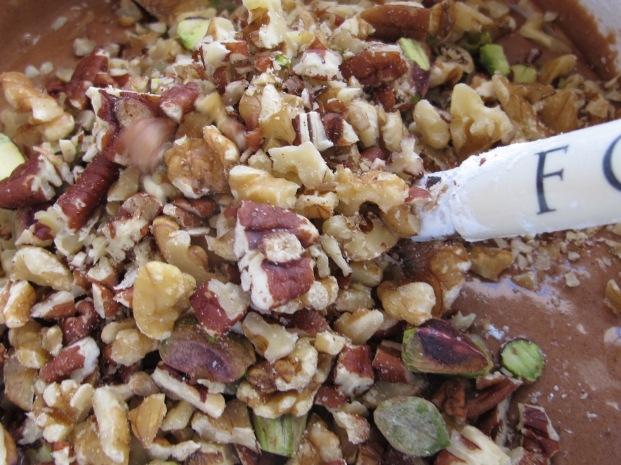 adding walnuts