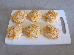 6 squash cakes