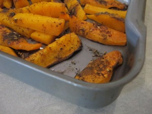 butternut, just out of the oven