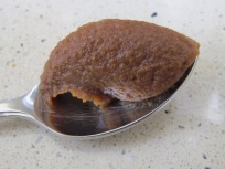 miso paste, spoonful