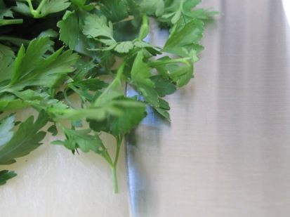 parsley, chopped