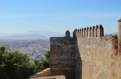 Malaga - view from the alcazaba