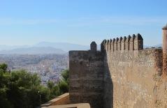 Malaga - view from the alcazaba